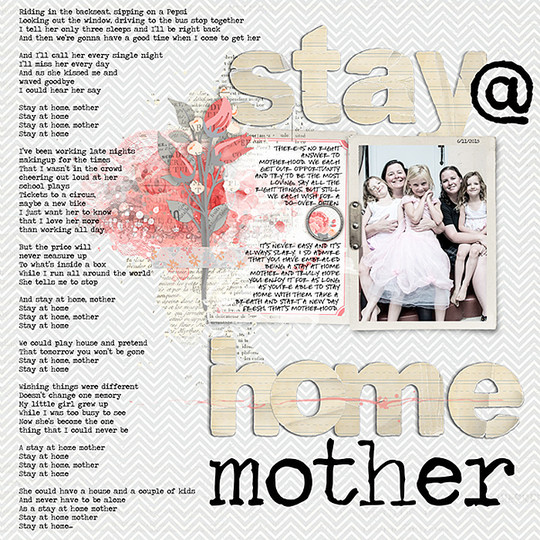 Stay at home mother original