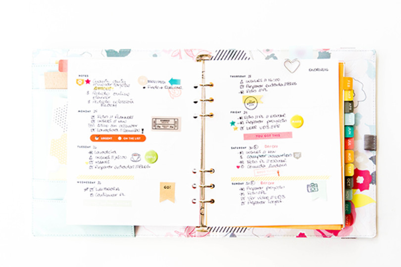 Planner week 4 marivi original