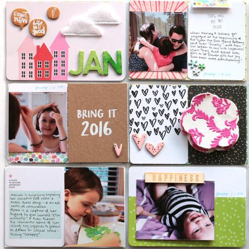 January left side by natalie elphinstone original