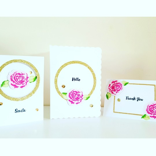 Card altenew roses original