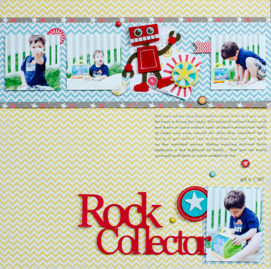 Rock collector original