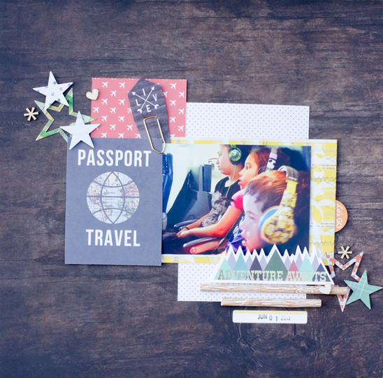 Passport travel original