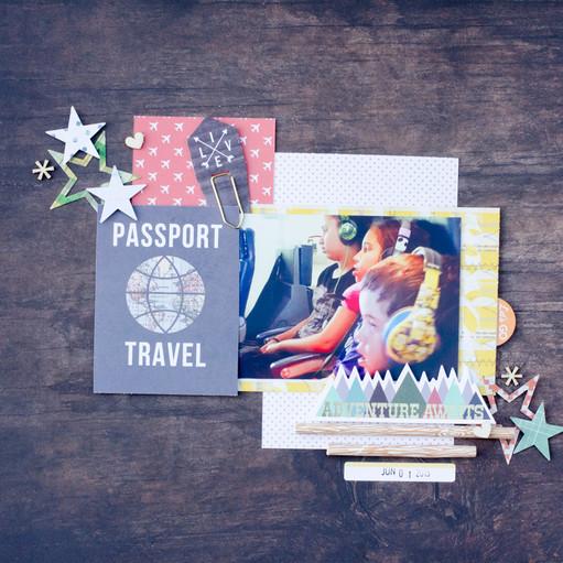 Passport travel original