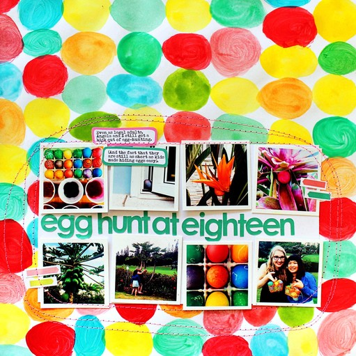 Egg hunt js scraptastic lo original