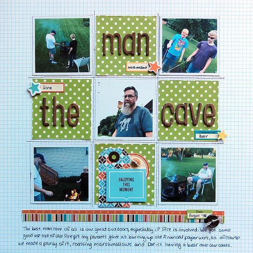 The man cave by jennifer larson original