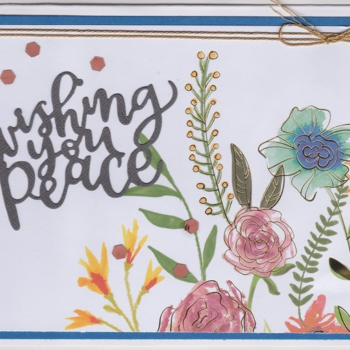 Wishing you peace original