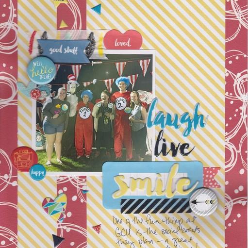 Laugh live smile original