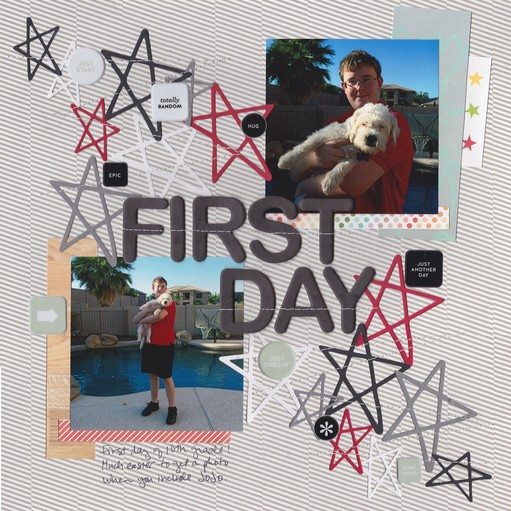 First day 0001 original