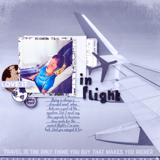 In flight original
