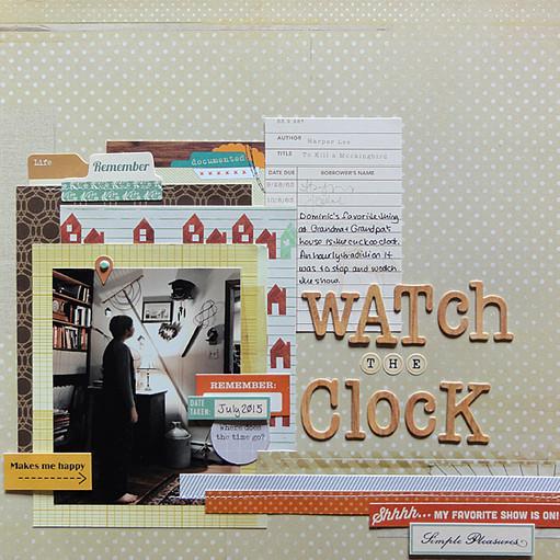 Watch the clock by jennifer larson original