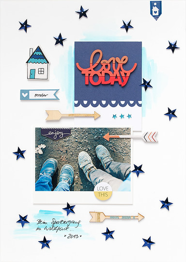 A mojosanti sandradietrich freckledfawn scrapbooking layout lovetoday original