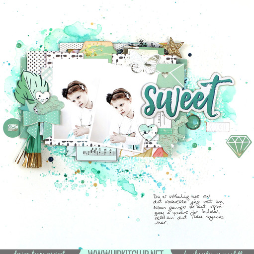 Christin gronnslett sweet hkc september kit original