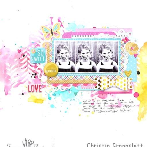 Christin gronnslett happy hues 001 original