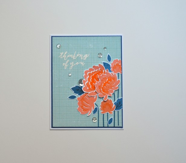 Thinking of you bouquet card original