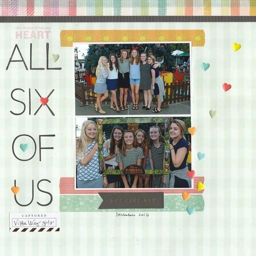 All six of us original