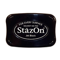 StazOn Ink Pad - Jet Black
