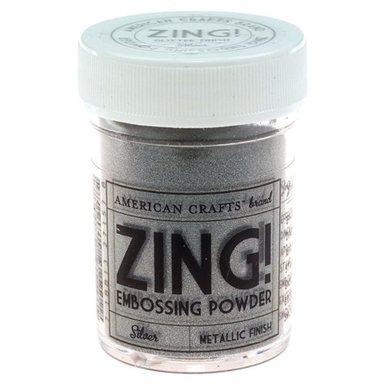 Metallic silver zing