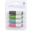 New glitter sketch pens