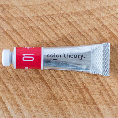 Color theory paints wellred