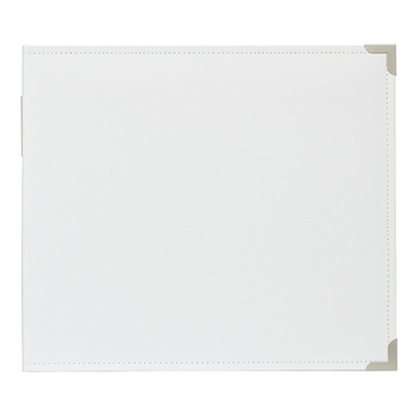 Pl 12x12 cloth album   white   image 1
