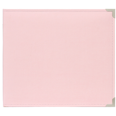 Pl 12x12 cloth album   baby pink