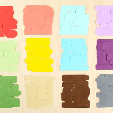 Color theory labels