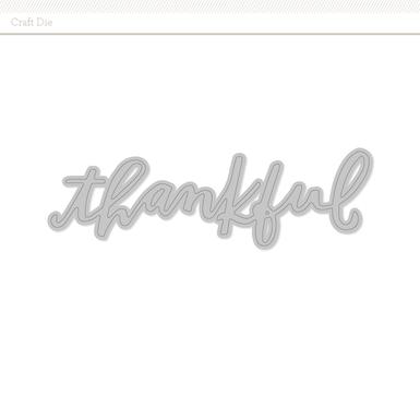 Thankful die image 1