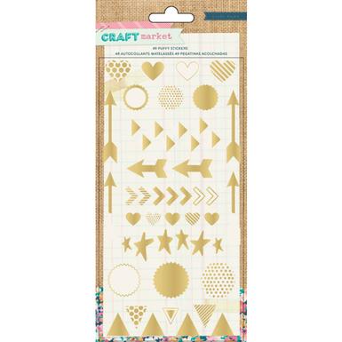 Craft market puffy stickers   image 1