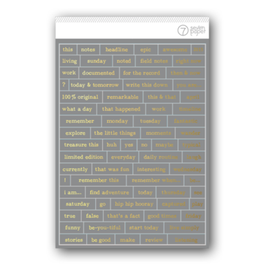 Gray phrase stickers   image 1
