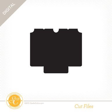 Sc winkwink cutfile cardholder preview