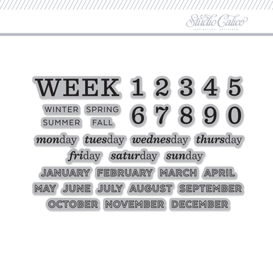 Week stamp original