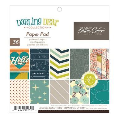 331239 sc darlingdear 6x6.5 paper pad 01 original