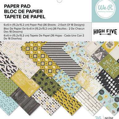 663049 wr highfive paperpad 6x6