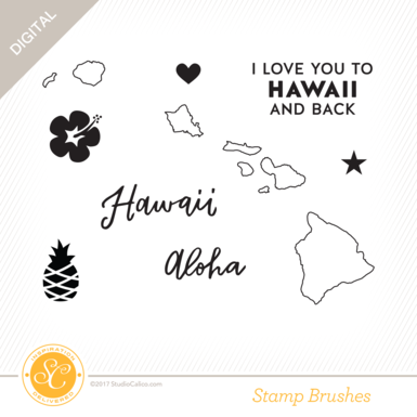 29471 sc romanholiday stamps i love hawaii preview
