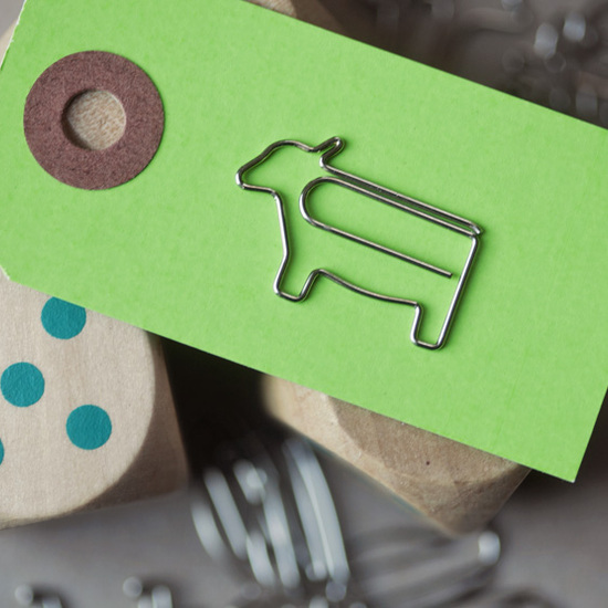 Paper Clips Cow - Set of 5
