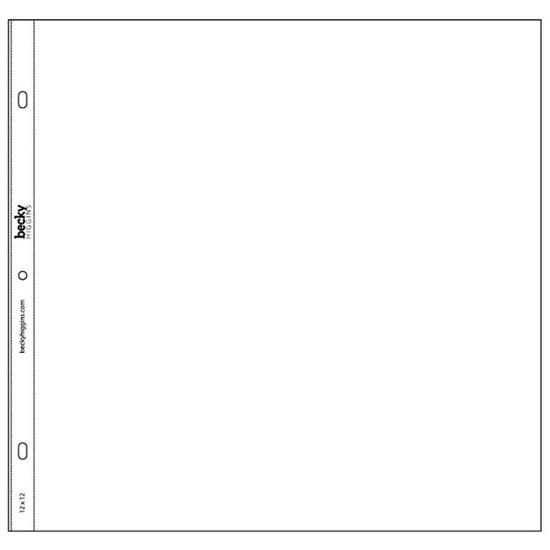 12x12 Page Protectors-Big Pack