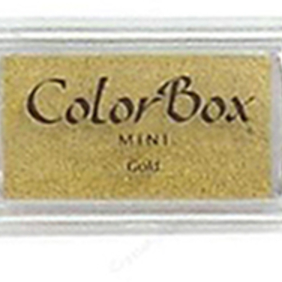 ColorBox Mini Metallic Pigment Inkpad- Gold