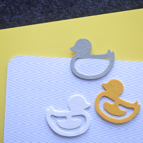 Index Clips Duck - set of 3