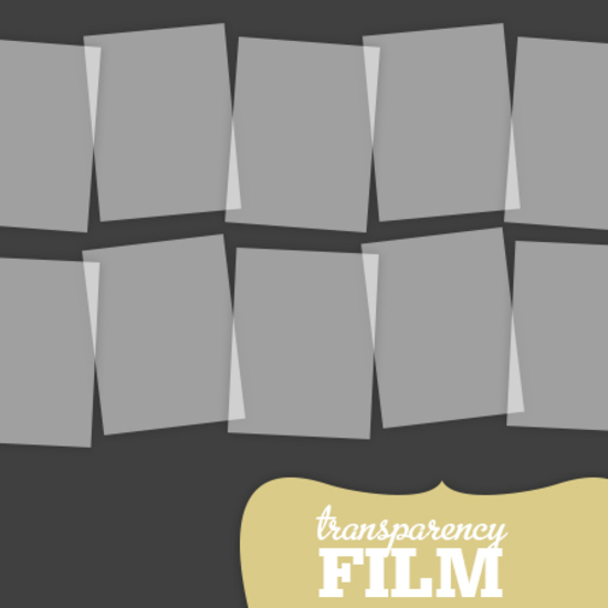 Transparency Film - Pack of 10
