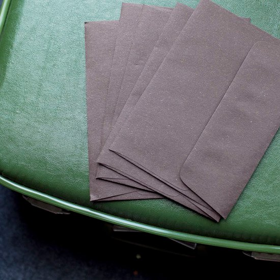 Cocoa Brown Envelopes