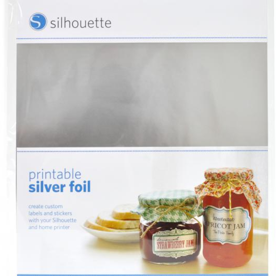 Printable Silver Foil Adhesive