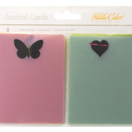 LemonLush Stitched Vellum Cards