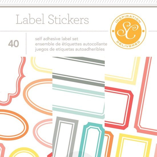 Wanderlust Labels Sticker Booklet