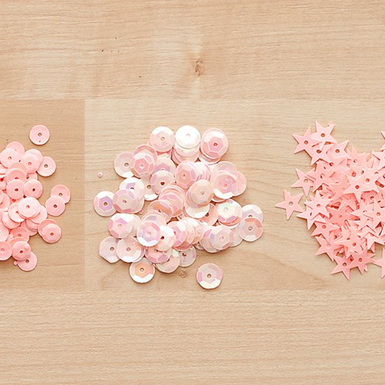 Color Theory Sequins Pack - Blush Crush