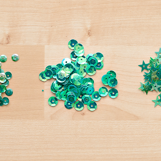 Color Theory Sequins Pack - Emerald City