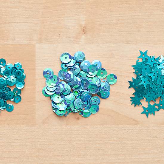 Color Theory Sequins Pack -  Something Blue