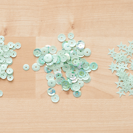 Color Theory Sequins Pack - Mint Hint