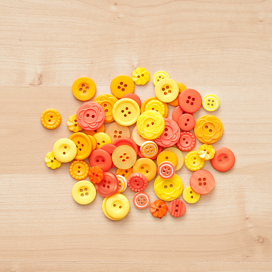 Color Theory Button Mix- Yellow