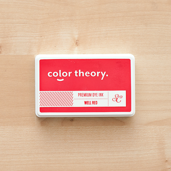 Color Theory Ink Pad - Well Red