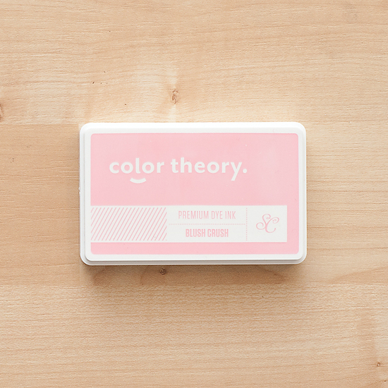 Color Theory Ink Pad: Blush Crush